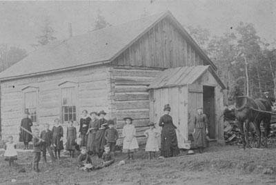 First Sundridge School, circa 1890