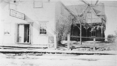 Church's Furniture Implements, Main Street, circa 1915