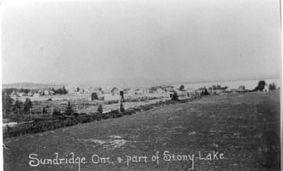Sundridge and Part of Stony Lake, circa 1916