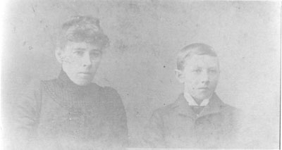 Portrait of Mrs. Mary Church & Arthur, circa 1880