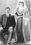 Wedding Photograph of Mr. & Mrs. McKeen, circa 1900