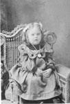 Portrait of Millie Knolls, circa 1900