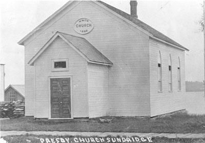 The Knox Presbyterian Church, Sundridge, circa 1920
