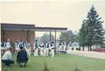 Sundridge Bugle Band After the Parade, 1967