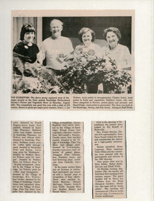 The Horticultural Society Scrapbook