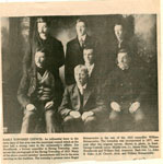Clipping about an Early Township Council, Sundrdidge, 1916
