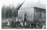 Standing Outside the Pevensey Pioneer School, circa 1890