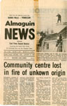 Community Centre Lost in Fire,Sundrdige, 1980
