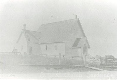 Faded Photograph of St. Paul's Church, Sundridge, circa 1915