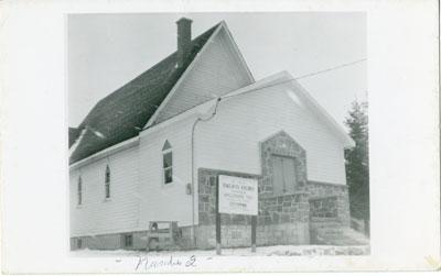 Photographic Postcard of St. Paul's Anglican Church, Sundrdige, circa 1930