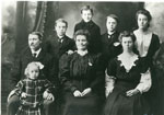 Portrait Photograph of the Wilson Family, circa 1910