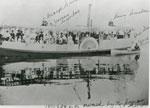 Sunday School Picinic on the Dunbar's Paddle Boat, circa 1900