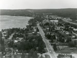 Aerial Photograph of Main Street and Highway 11, Sundridge, circa 1960