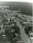 Aerial Photograph of Main Street and Highway 11, Sundridge, ON, circa 1960