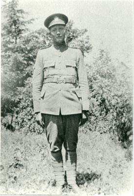 Portrait of Sergeant James Mingare, circa 1916