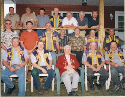 Group Photograph of the Sundridge Lion's Club, 2006