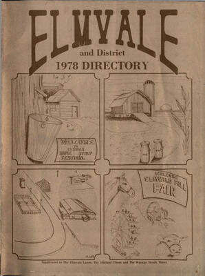 Elmvale and District 1978 Directory