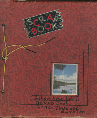 Schreiber Women's Institute Scrapbook 1