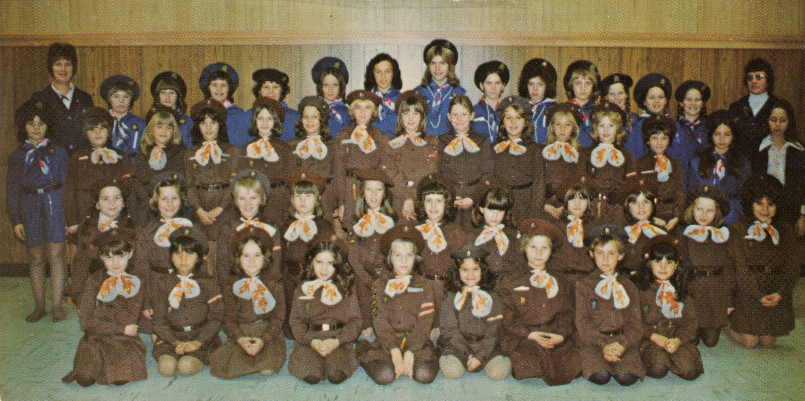 Schreiber Girl Guides and Brownies