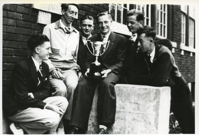 Continuation School Track Team 1940