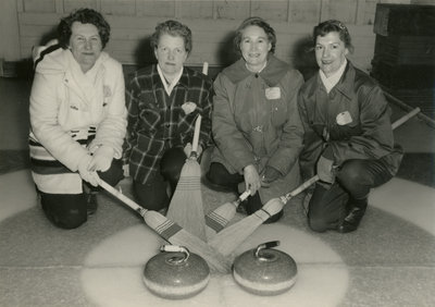 Four Women Curling