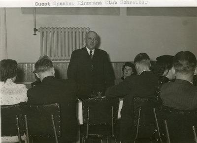 Kinsman Club Banquet Schreiber
