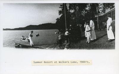 Summer Resort on Walker's Lake