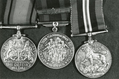 3 World War 2 Medals