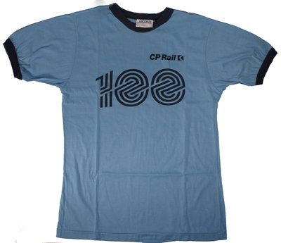 C. P. Rail 100th Birthday T-shirt