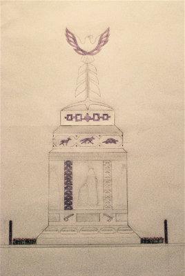 1812 Peace Monument-conceptual design