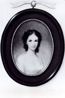 Cameo Portrait of Laura Secord