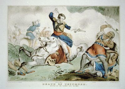 Death of Tecumseh: Battle of the Thames Oct. 18, 1813