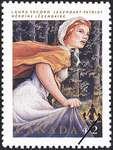 Laura Secord Commemorative Stamp