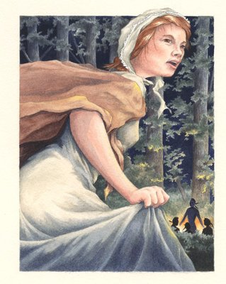 Laura Secord (commemorative stamp image)