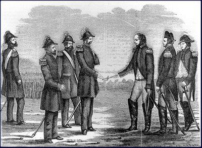 General Hull surrenders For Detroit