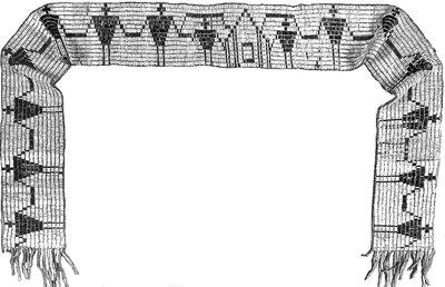 1794 Canandaigua Treaty belt (George Washington Belt)
