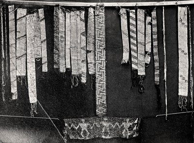Wampum Collection - Pitts River Museum, England - Taken by Horatio Hale, Anthropologist, 1871.