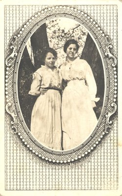 Photograph of Olive (Masters) Bartlett and Friend