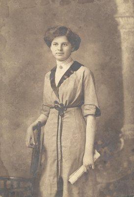 Portrait of Olive (Masters) Bartlett