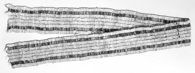 Two Row (or Two Paths) Wampum Belt