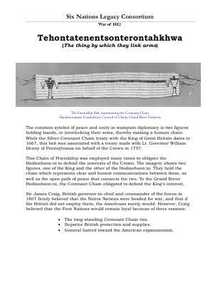 War of 1812 Series (16): Tehontatenentsonterontahkhwa
