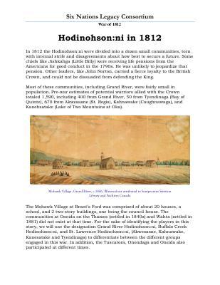 War of 1812 Series (17): Hodinohsonni in 1812