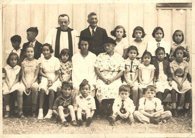 Sunday School at St.John's Anglican Church 1939