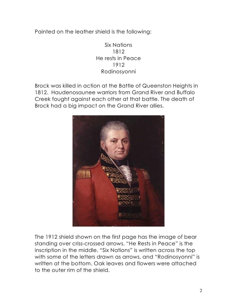 War of 1812 Series : Haudenosaunee and the War of 1812 - Six Nations and Isaac Brock
