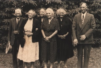 Surviving Anderson Siblings c.1956