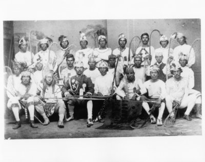 Six Nations Lacrosse Team 1892