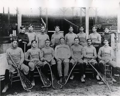 Canada Lacrosse Team 1904 St Louis Olympics