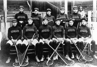 Iroquois Lacrosse Team 1904