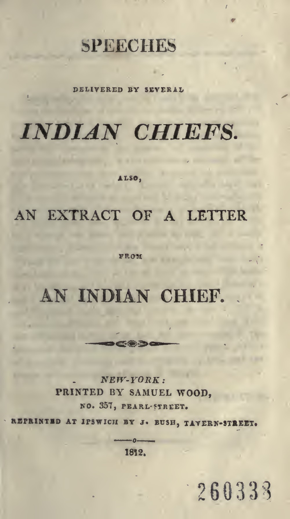 Speeches delivered by Chiefs -1710-1805