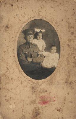 George, Hazel and Gordon Anderson